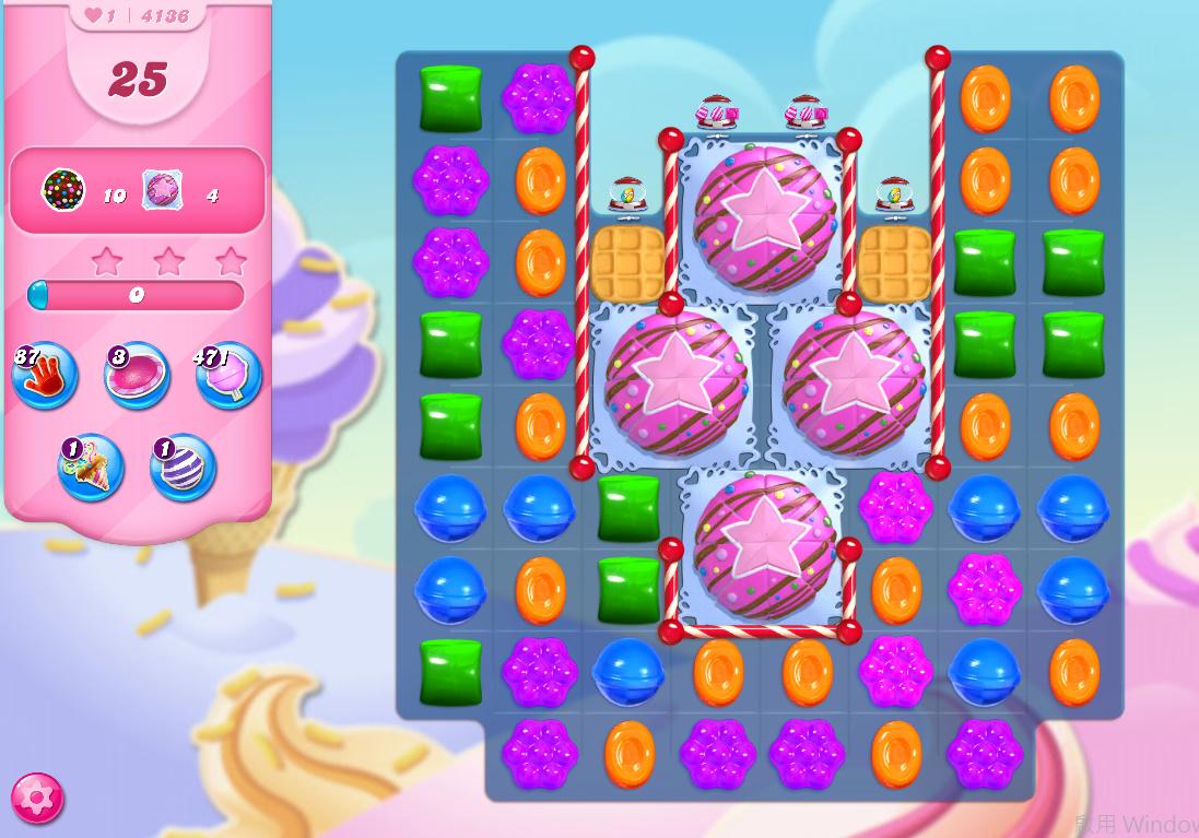 Candy Crush Saga level 4136
