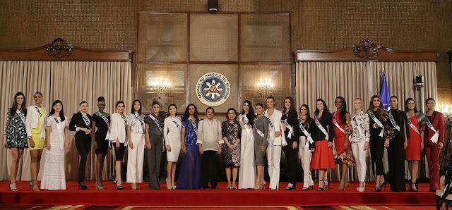 Duterte Miss Universe