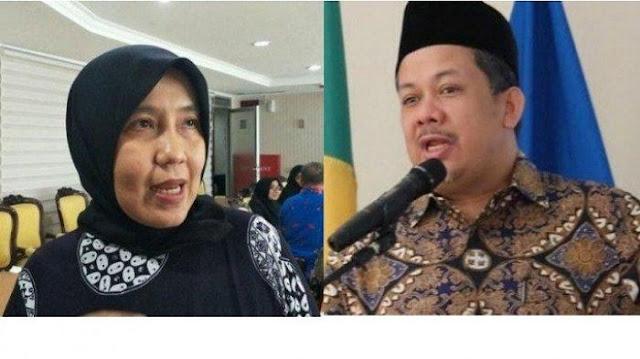 Fahri Hamzah Setarakan Ani Hasibuan dengan Dokter Pra Kemerdekaan