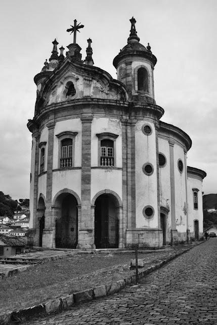 Igreja Nossa Senhora do Rosário dos Homens Pretos, em Ouro Preto