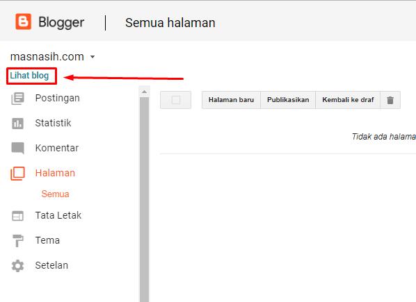 cara mencari alamat blog orang lain