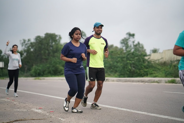 Hyderabad Runners organises Airtel Hyderabad Marathon Training run at Medchal