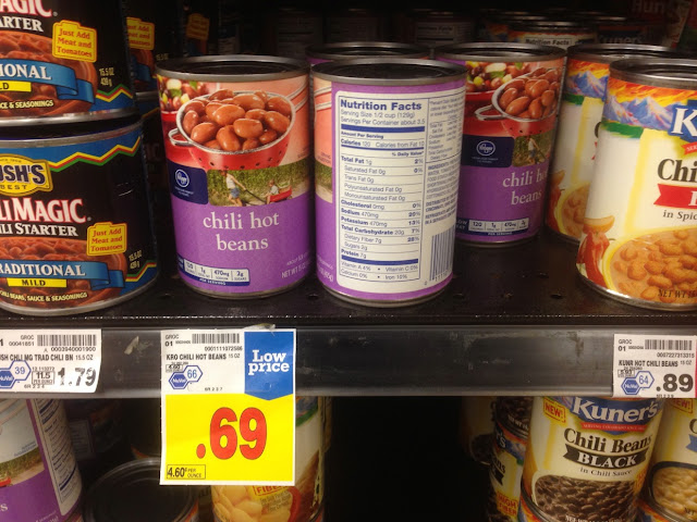 Chili Hot Beans - Kroger