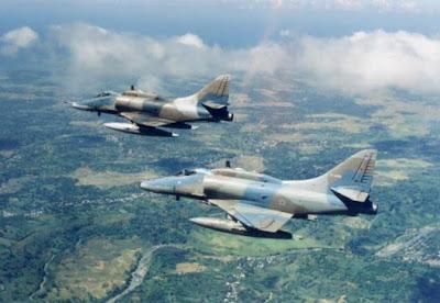 A4 Skyhawk TNI AU dari Israel