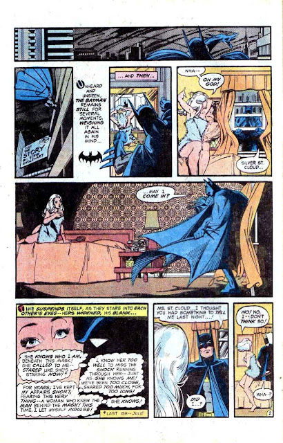 Detective Comics v1 #475 dc comic book page art by Marshall Rogers (Joker)