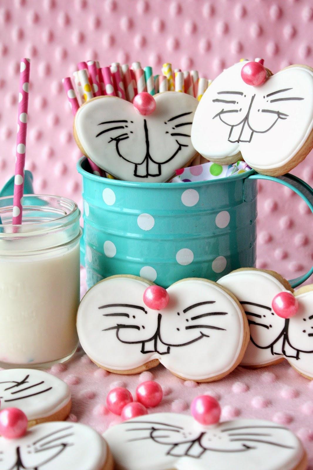 Funny Bunny Cookies | Munchkin Munchies