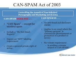 CAN-SPAM -10 thuật ngữ Email Marketing bạn cần biết