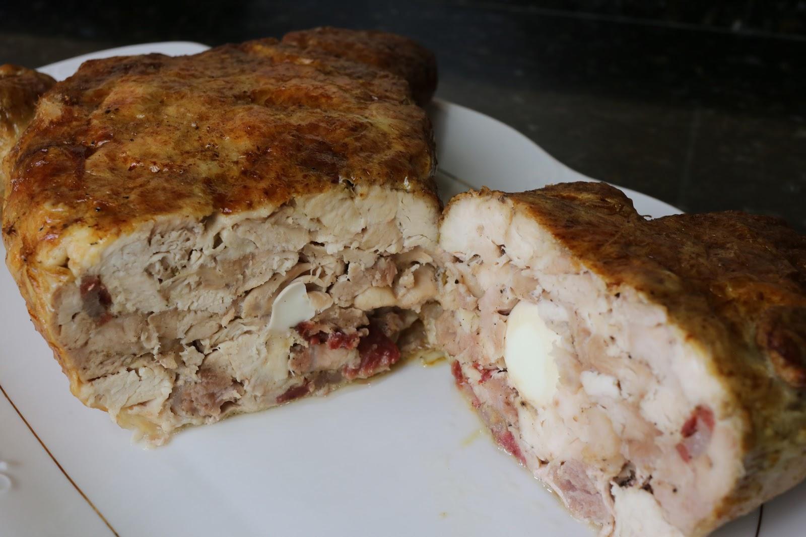 Como Cocinar Pollo Relleno Al Horno | Cocina Andaluza Pollo Relleno Al Horno