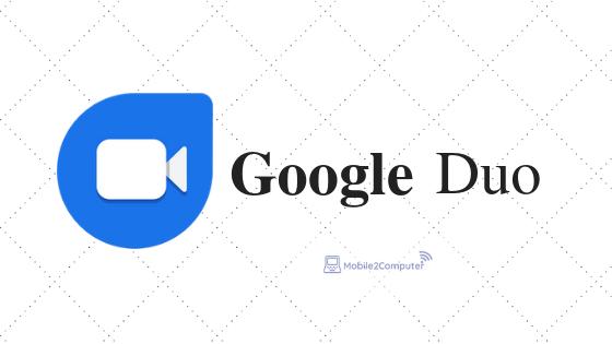 Best Free Video calling app Google Duo