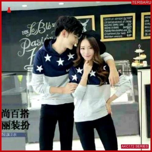 AKC172S44 Sweater Couple Bintang Anak 172S44 Pasangan Navy BMGShop