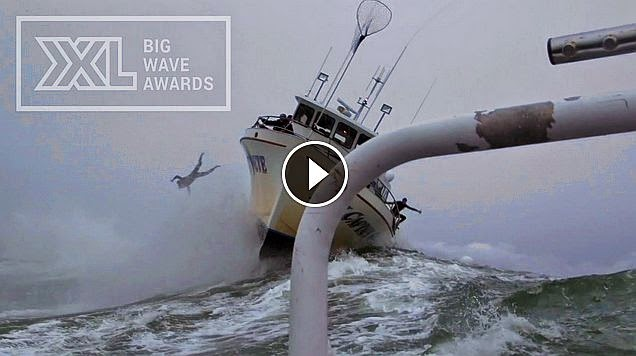 Mark Healey at Maverick s - 2015 Wipeout of the Year Entry - XXL Big Wave Awards