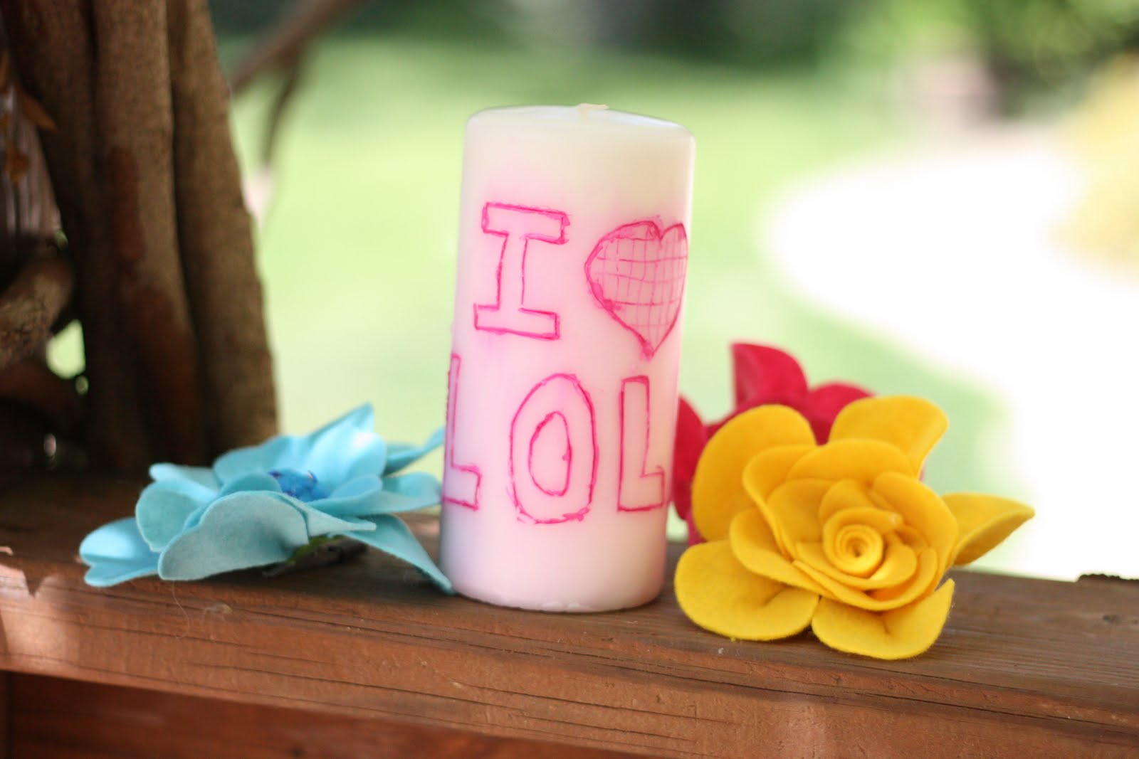 Diy Mothers Day Gifts From Baby Mother 39s Day Gift Idea 2 Personalized Candle I Can