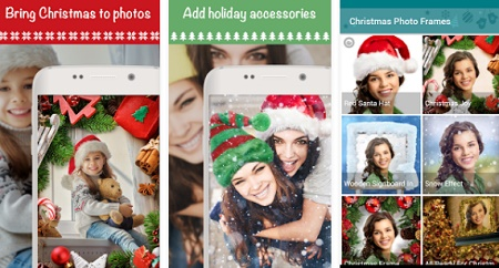 aplikasi bingkai foto bertema natal di android