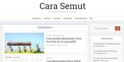 blog carasemut