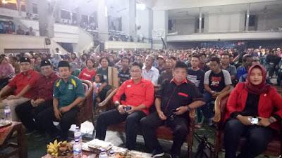 PDI Perjuangan Kota Mojokerto Turunkan Guraklih untuk Ajak Masyarakat Pilih Gus Ipul – Mbak Puti