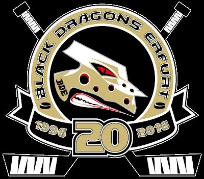 Logo 20 Jahre Black Dragons Erfurt