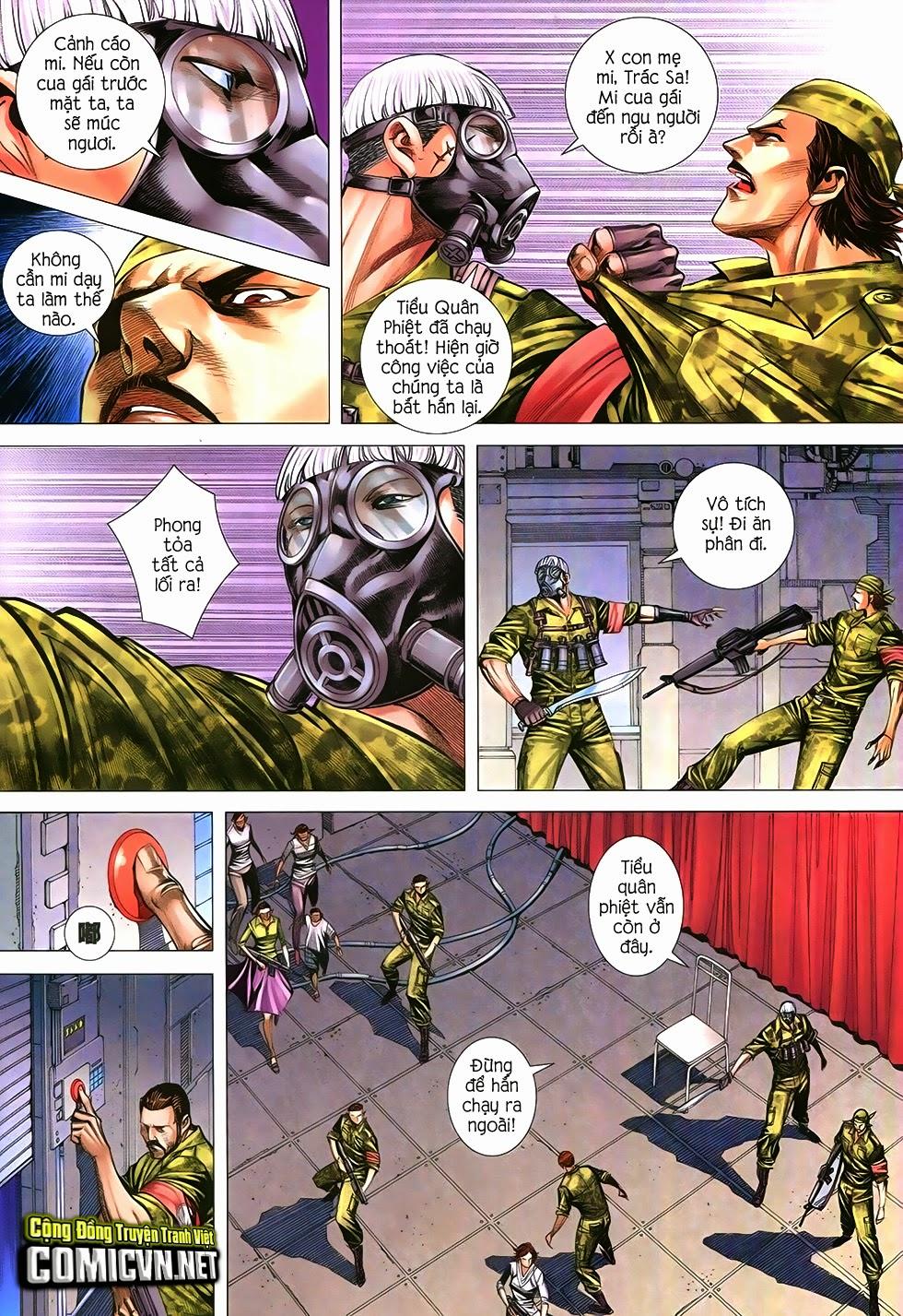 Đại Quân Phiệt chap 12 trang 24