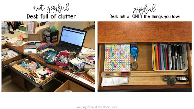 The life changing magic of tidying up your classroom
