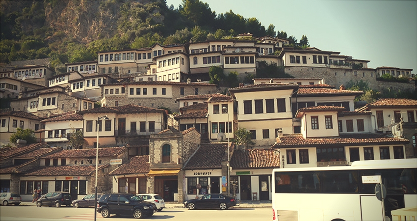 zamek w Berat