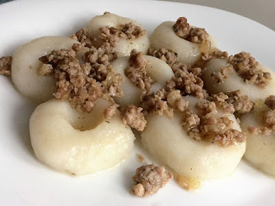 Kluski z gotowanych ziemniaków