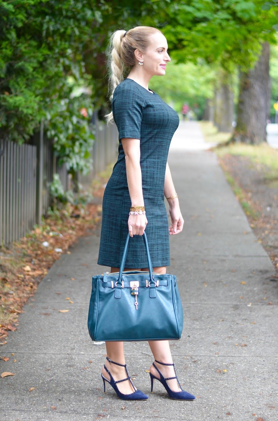 short sleeve theory dress