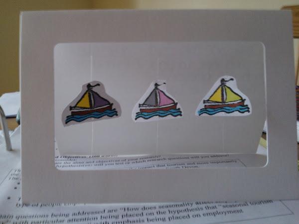 Create: Sailing Card