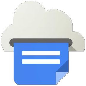 google cloud print logo