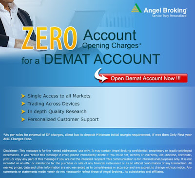 Angel Broking demat account Advantages