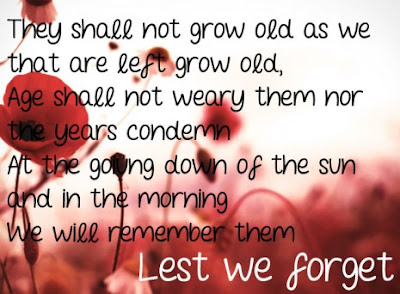 Anzac Day Poems Lest We Forget