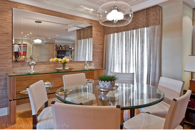 Espelho Na Sala De Tv Pequena ~ Salas de jantar50 modelos maravilhosos e dicas de como decorar