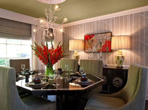 idea ringkas hiasan di ruang makan ~ dekorasi halaman rumah