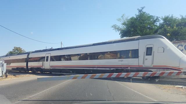 ARCHIVO ECI tren a su paso por Illescas