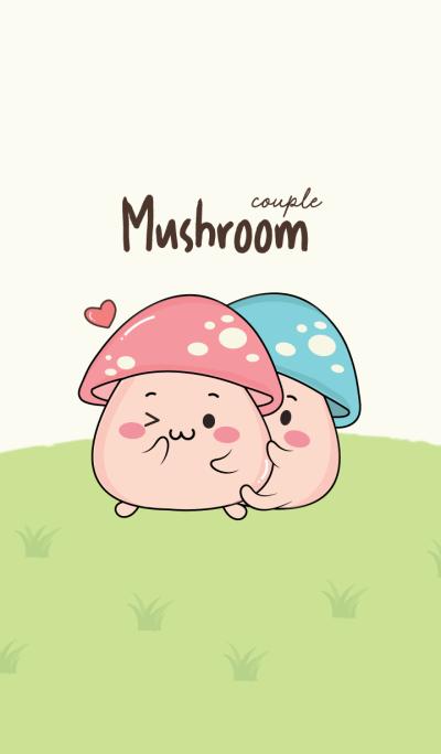 Mushroom Couple.