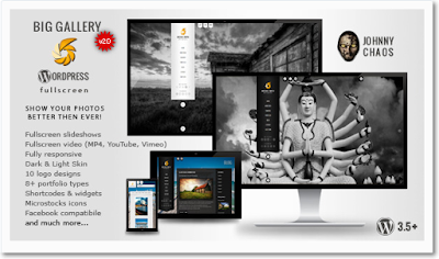 BIG Gallery WP - Fullscreen Photography/Portfolio