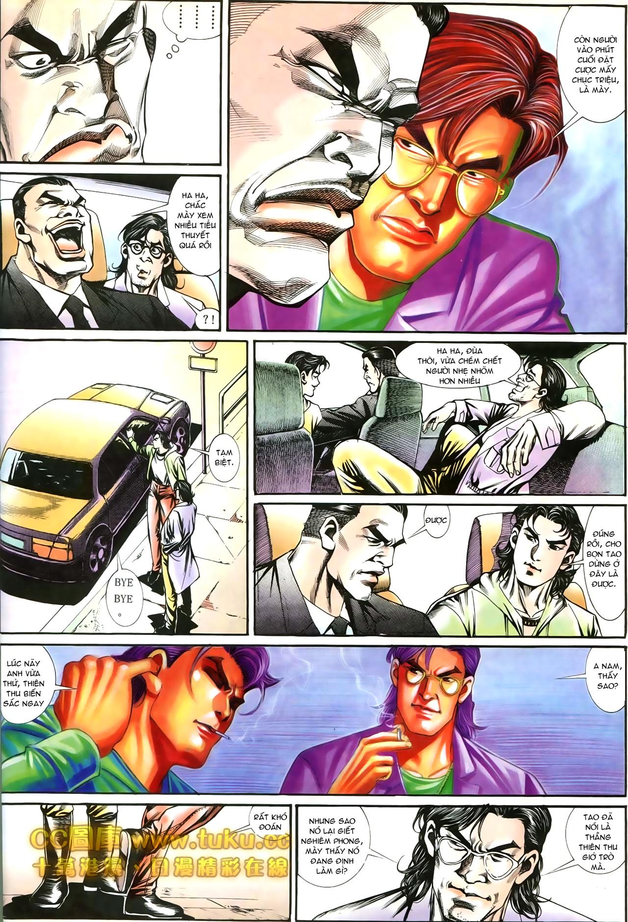 Người Trong Giang Hồ chapter 197: quạ đen báo thù trang 20