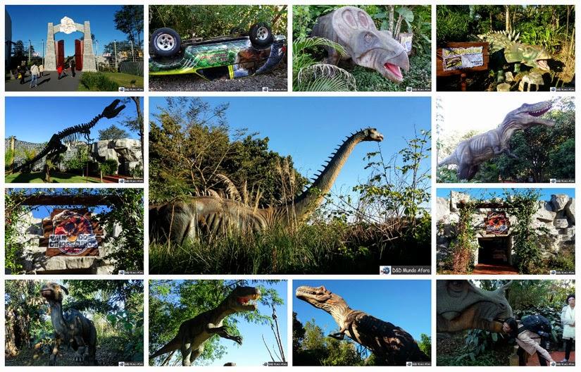 O que fazer em Foz do Iguaçu - Vale dos Dinossauros