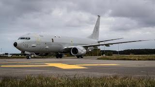 Boeing P-8A Poseidon Kedua Pesanan RAF - ZP802 City of Elgin