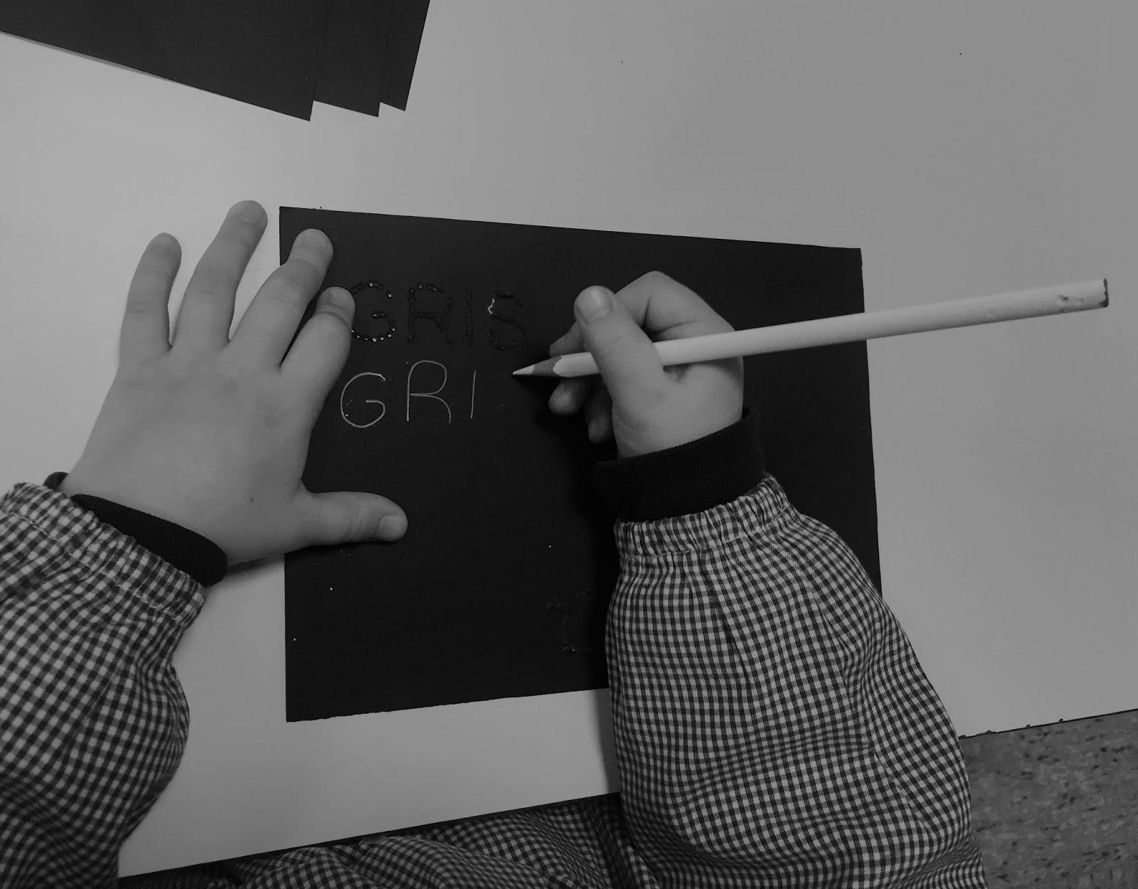 Pintando sonrisas de colores: El libro negro de los colores.