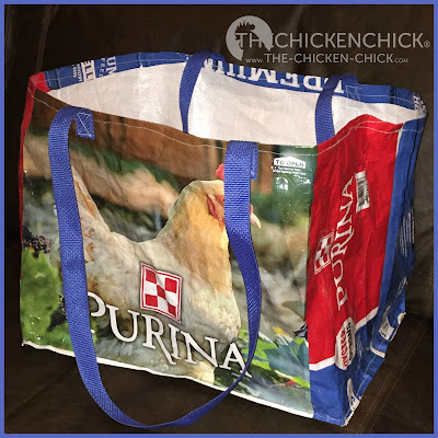 "When I first noticed the new Purina Layena® bag design with the ""Oyster Strong™ System,"" logo, I thought to myself, ""I love the blue, retro vibe; these will make such adorable tote bags!"" Probably not the reaction the folks at Purina were hoping for, but...that's how it went down. Now I understand what the Oyster Strong™ System does for my hens' health and eggshells and I love that too."