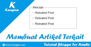 Cara Membuat Artikel Terkait Di Tengah Postingan