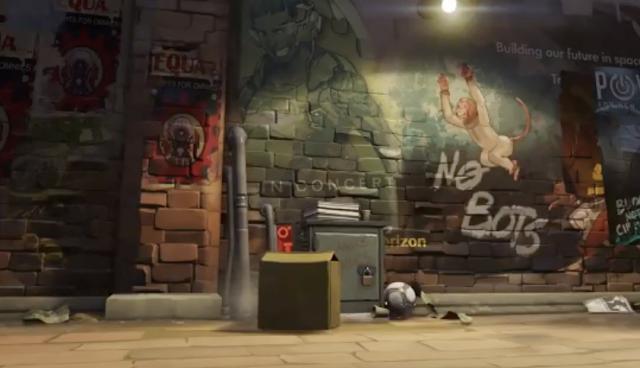 Hammond el gorila sería el nuevo héroe de Overwatch