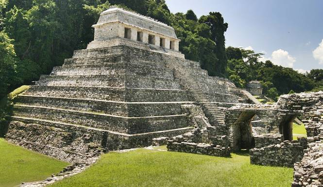 piramida pacal votan di situs Palenque
