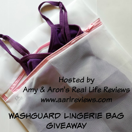 WashGuard Lingerie Bags #Review #Giveaway