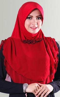 contoh model hijab simple dan praktis 8