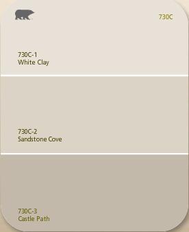 Behr Paint Colour Palette Colors