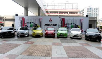 Warna Mitsubishi Mirage