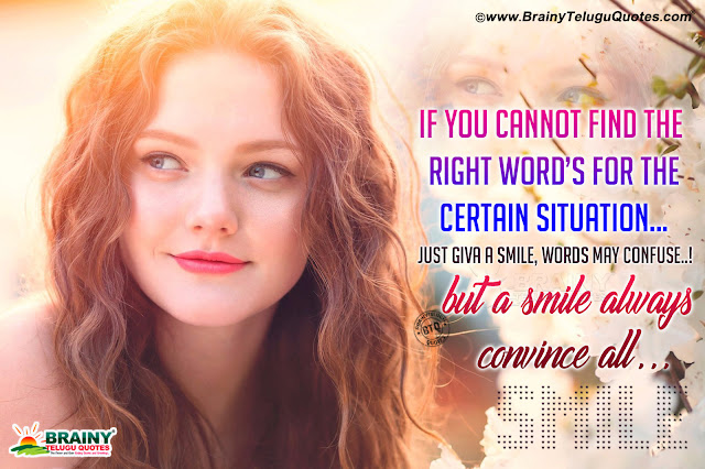 english quotes about smile, keep smiling always in Telugu, Smiling baby hd wallpapers free download