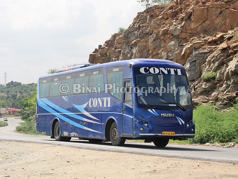 Conti Travels Ticket Booking