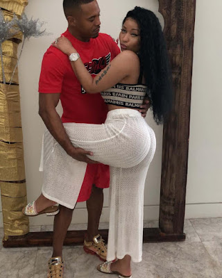 Photos of Nicki Minaj and new boo Kenneth Petty
