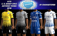 PES 2013 Kits Club Godoy Cruz 2016-17 By emimaster96